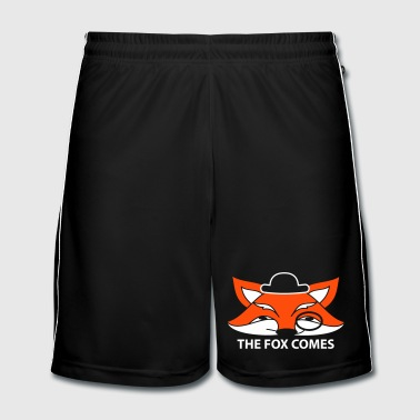 the fox comes - Fotballshorts for menn