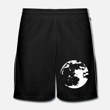 Moon Moon Stencil - Men's Football Shorts