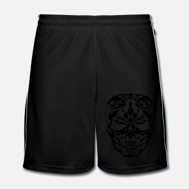 Ornement Un masque de crâne ornements  - Short de football Homme