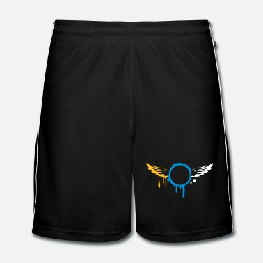 Aile deux ailes graffiti  - Short de football Homme