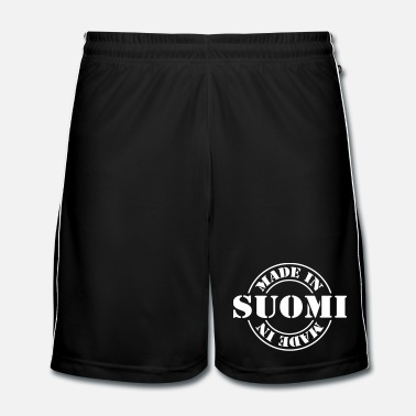 Stempel made_in_suomi_m1 - Mannen voetbal shorts