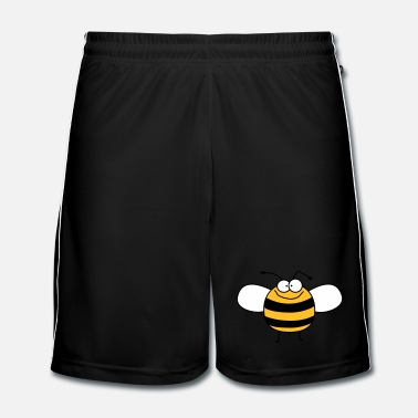 Grappig Grappig het baby Bee - Hommel - Mannen voetbal shorts