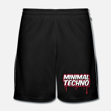 Électro MINIMAL TECHNO - Short de football Homme