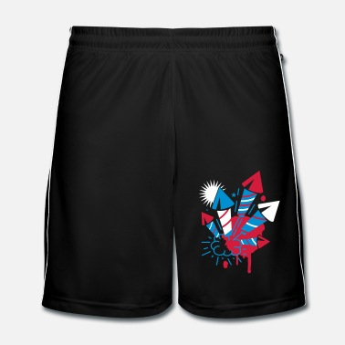 Fireworks A firework  - Men's Football Shorts
