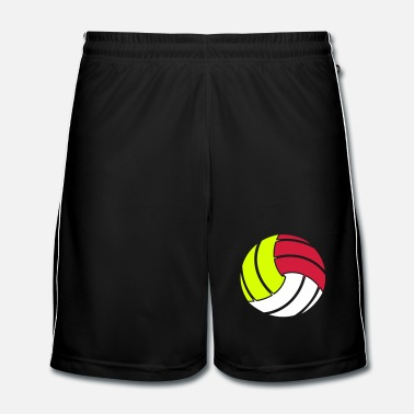 Volley Le ballon de volley-ball - Short de football Homme
