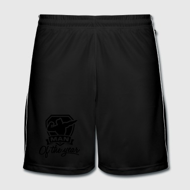 Man of the year 1 clr - Fotballshorts for menn