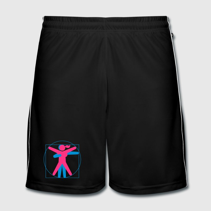 Kamasutra - Vitruvian BDSM - Men's Football shorts