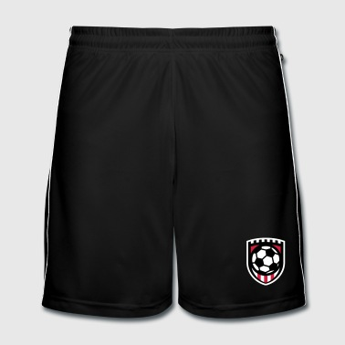 Minimal football logo / coat of arms / flag / badge - Pantaloncini da calcio uomo