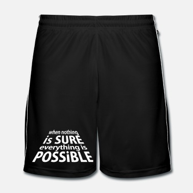 Expression Sure and Possible (1c) - Short de football Homme