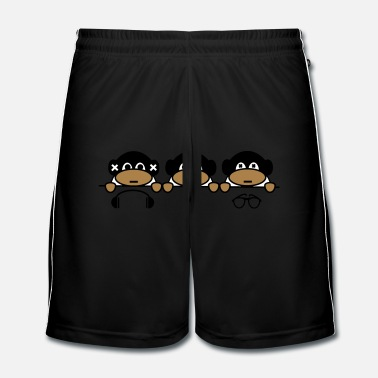Animal Conférence Monkeys - Short de football Homme