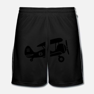Pilot Biplane aircraft - Men's Football Shorts