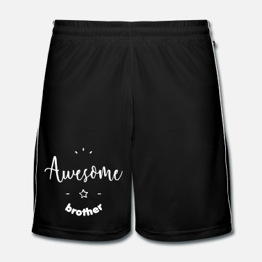 Lila Awesome Brother - Fotbollsshorts herr