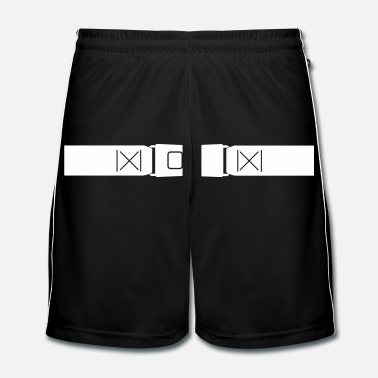 Motor Sport _belt_racing_cs7 - Men's Football Shorts