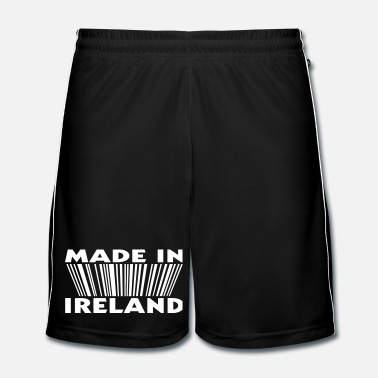 Europa Made in ireland 3D code - Mannen voetbal shorts