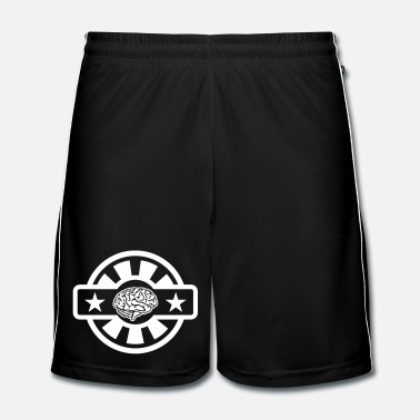 Brillant Cerveau - Short de football Homme