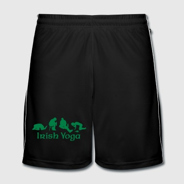 Irish Yoga - Men's Football shorts