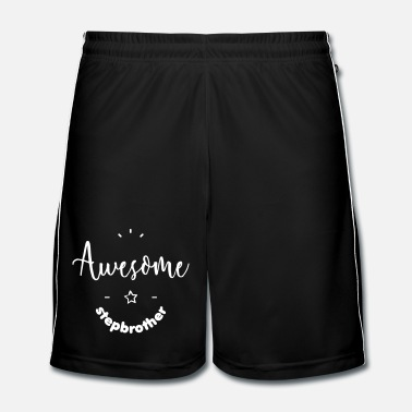Lila Awesome Stepbrother - Fotbollsshorts herr