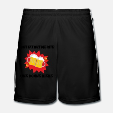 Chopper UNE BIERE - Short de football Homme