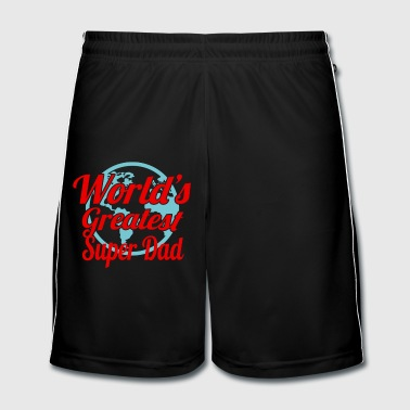 Fathers Day Superdad - Men's Football shorts