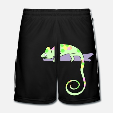Lézard chameleon - Short de football Homme