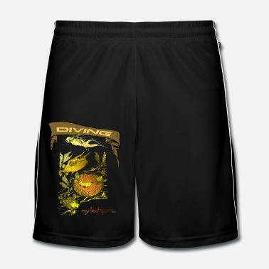 Sports diving -my best sport- - Männer Fußball Shorts