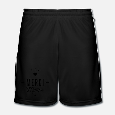 École merci maitre - Short de football Homme