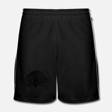 Logo Shadow_no logo - Short de football Homme