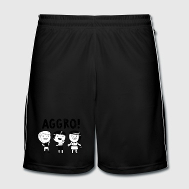 AGGRO Girls don't fear! T-Shirts - Men's Football shorts