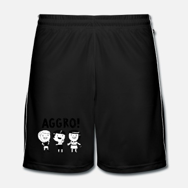 Ska AGGRO Girls don't fear! T-Shirts - Men's Football shorts
