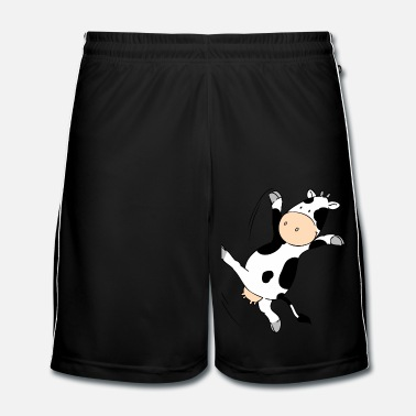 Cow Mooviestars - Dancing Cow - Men's Football Shorts