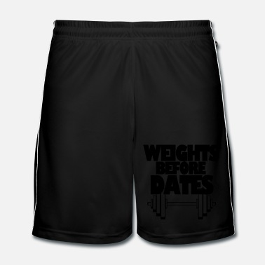 Date Weights Before Dates - Short de football Homme