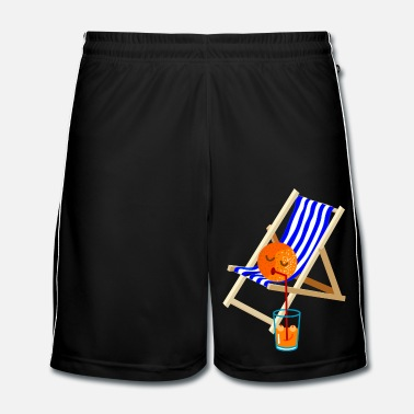 Froid plaisir - Short de football Homme