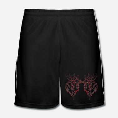 Teenager Bleeding Heart 2 - Männer Fußball Shorts