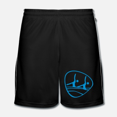 Swim  synchronized_ swimming_olim1 - Men's Football Shorts