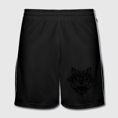 dangerous wolf  - Men's Football shorts