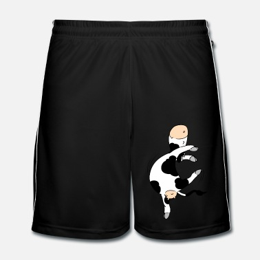 Collections Mooviestars - Ballet Cow - Men's Football Shorts
