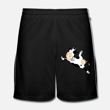 Collections Mooviestars - Breakdancing Cow - Men's Football Shorts