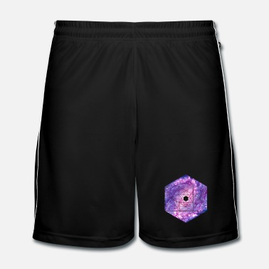 Swag Galaxy - ruimte - universum / hipster symbool - Mannen voetbal shorts