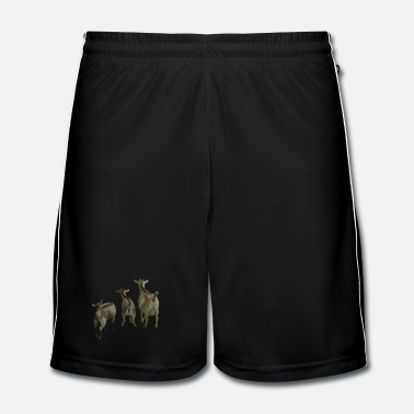 Milk goats - Men's Football Shorts
