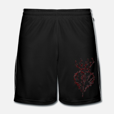 Teenager Bleeding Heart - Männer Fußball Shorts