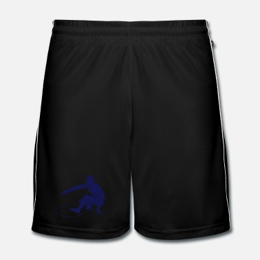Hawaï Surfing - Surfer - Surfboard - Short de football Homme