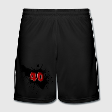 40th birthday - Men's Football shorts