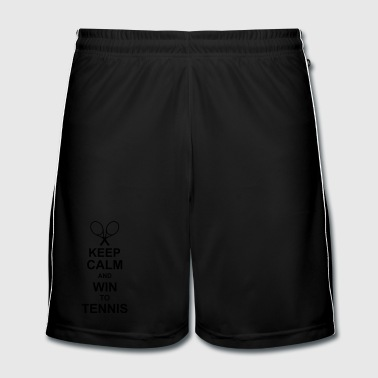 keep_calm_and_win_to_tennis_g1 - Short de football Homme