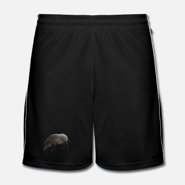 Bacon wild boar - Men's Football Shorts