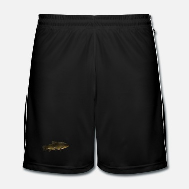 Pêcheur carpe (poisson) - Short de football Homme