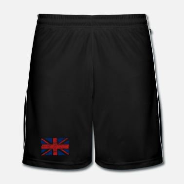 Uk Union Jack - UK - Vintage Look  - Men's Football Shorts