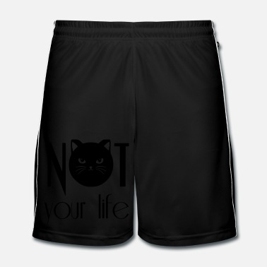 Youtube NOT your life - Männer Fußball Shorts
