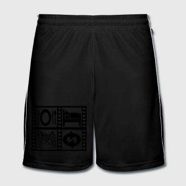 GEEK CYCLE - Short de football Homme