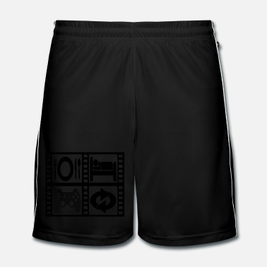Gamer GEEK CYCLE - Short de football Homme