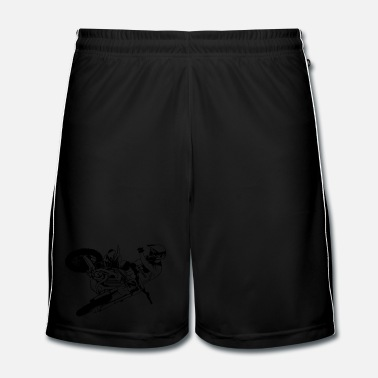 Motor Sport Moto Cross - motocross - Men's Football Shorts